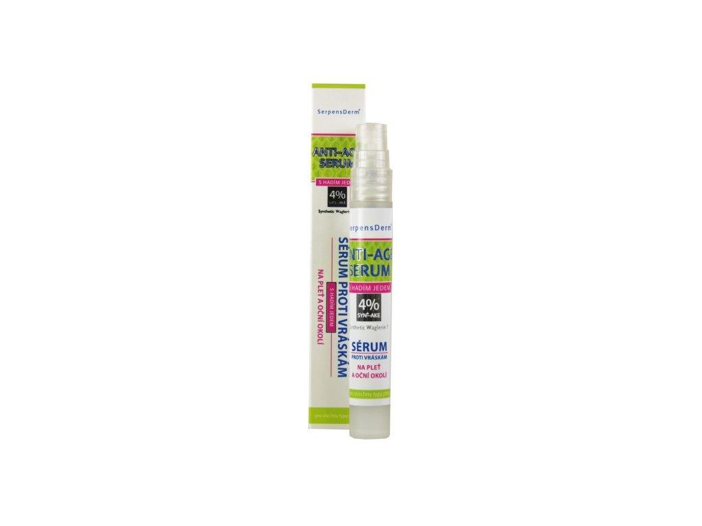 16601 vivaco serpensderm liftingove serum proti vraskam s hadim jedem na plet a ocni okoli serpens derm 10 ml