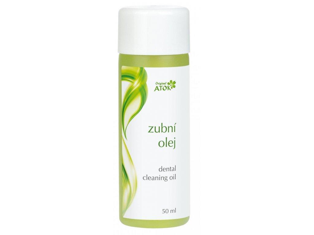 Atok zubní olej 50 ml.