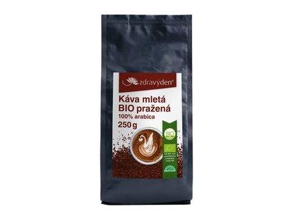 Zdravý den Káva mletá BIO pražená (varianta 1000g)