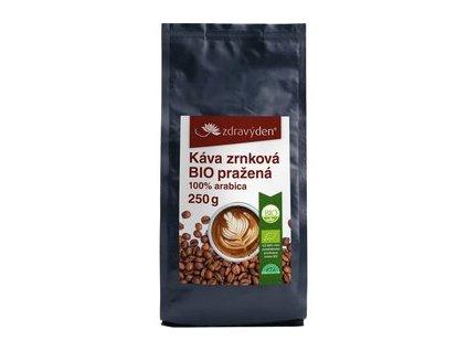 Zdravý den Káva zrnková BIO pražená (varianta 1000g)