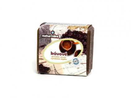 Naturinka - Mýdlo peelingové - káva (varianta 45g)